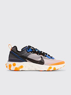 Nike Running React Element 87 Wolf Grey / Black / Thunder Blue