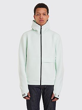 Nike Sportswear ACG Fleece FZ Hoodie Barely Green / Team Orange