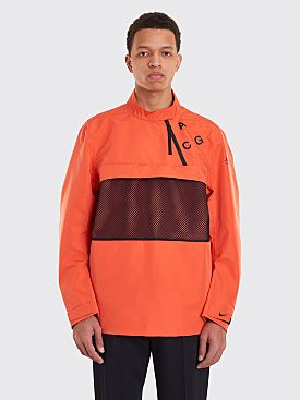 Nike Sportswear ACG PO Shell Jacket Team Orange / Black