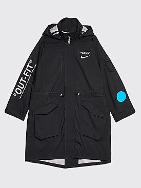 NikeLab x Off-White Parka Jacket Black