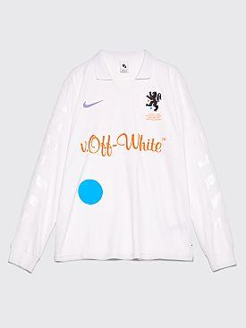 NikeLab x Off-White Football Jersey White