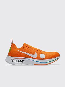 NikeLab x Off-White Zoom Fly Mercurial Flyknit Total Orange