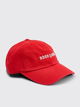 Noon Goons Old English Simple Hat Red