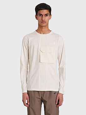 The North Face Black Series Steep Tech Long Sleeve T-shirt White
