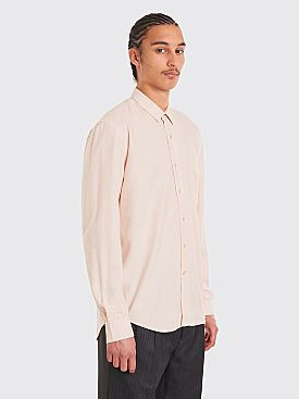 Our Legacy Classic Shirt Acid Pink Silk Noil