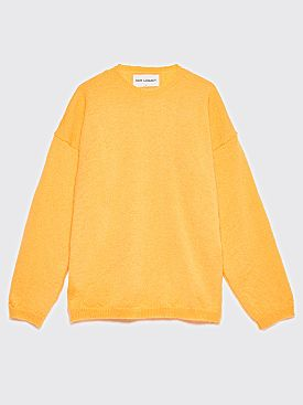 Our Legacy Popover Roundneck Mohair Sweater Orange