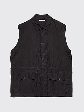 Our Legacy Puff Pocket Shirt Vest Black Ripstop
