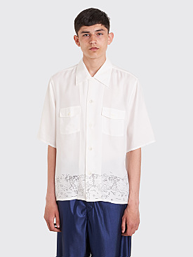 Our Legacy P.X. Shirt Beach Life White