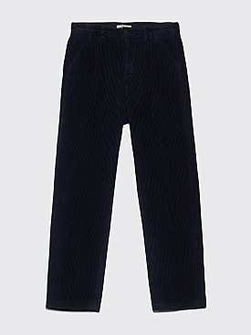 Our Legacy Chino 22 Pants Glow Navy Corduroy