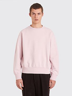 Our Legacy Patch Sweat Washed Pink