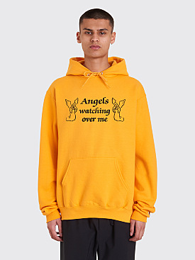 Paradis3 Angels Hooded Sweatshirt Orange