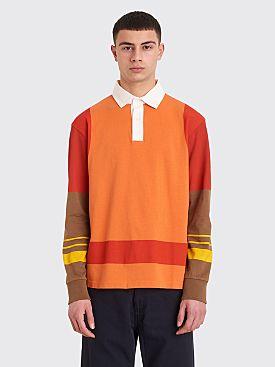 PHIPPS Rugby Shirt Orange Multi