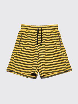 PHIPPS Lounge Shorts Green / Yellow