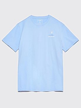 Polar Skate Co. Converse Crew Neck T-Shirt Jack Purcell Blue