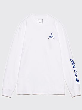 Polar Skate Co. Converse LS T-Shirt Optical White