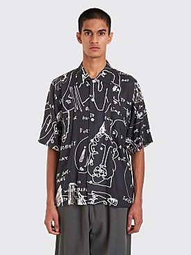 Polar Skate Co. Art Shirt Alv Black