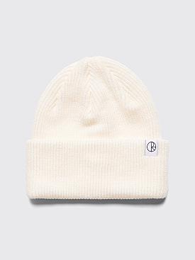 Polar Skate Co. Merino Wool Beanie Ivory