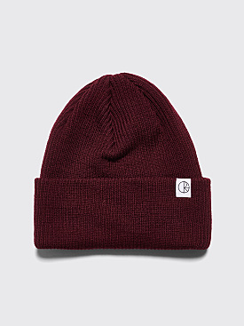 Polar Skate Co. Merino Wool Beanie Burgundy