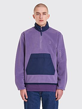 Polar Skate Co. Gonzalez Fleece Jacket Lilac