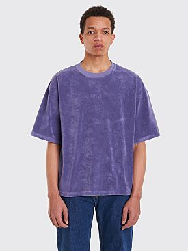 Polar Skate Co. Terry Surf T-Shirt Plum
