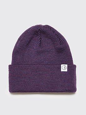 Polar Skate Co. Merino Wool Beanie Dark Purple