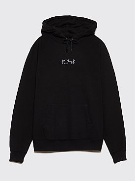 Polar Skate Co. Default Hooded Sweatshirt Black