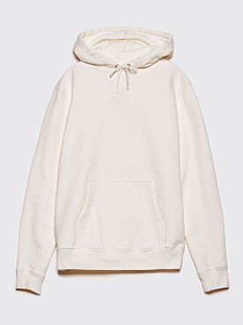 Polar Skate Co. Heavyweight Hooded Sweatshirt Ivory White