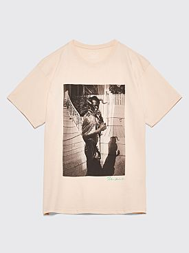 Polar Skate Co. Devil T-Shirt Beige