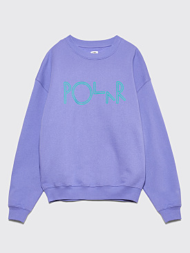 Polar Skate Co. American Fleece Sweatshirt Violet
