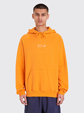 Polar Skate Co. Default Hooded Sweatshirt Orange