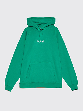 Polar Skate Co. Default Hooded Sweatshirt Green