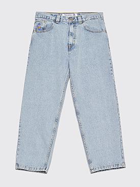 Polar Skate Co. 93 Denim Jeans Light Blue