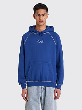 Polar Skate Co. Contrast Default Hooded Sweatshirt Dark Blue