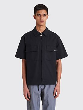 Polar Skate Co. Work Shirt Black