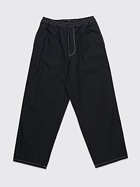 Polar Skate Co. Karate Pants Black / White