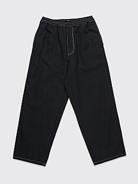 Polar Skate Co. Karate Pants Black / White