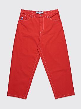 Polar Skate Co. Big Boy Jeans Red