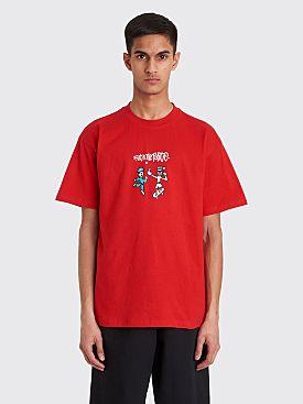 Polar Skate Co. FTP T-shirt Red