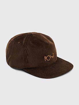 Polar Skate Co. Corduroy Cap Brown