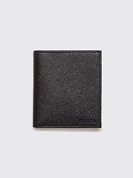 Prada Saffiano Leather Wallet Black