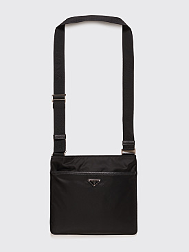 Prada Nylon Shoulder Bag Black
