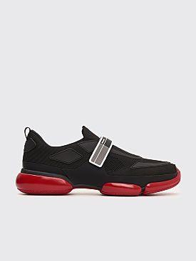 Prada Cloudbust Velcro Sneakers Black