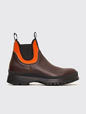 Prada Chelsea Boots Brown