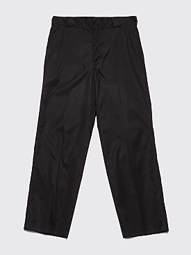 Prada Gabardine Nylon Pants Black