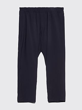 Prada Travel Wool Pants Navy