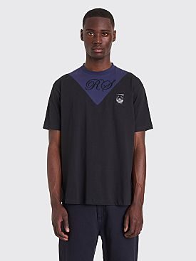 Raf Simons x Fred Perry V-Insert T-Shirt Black