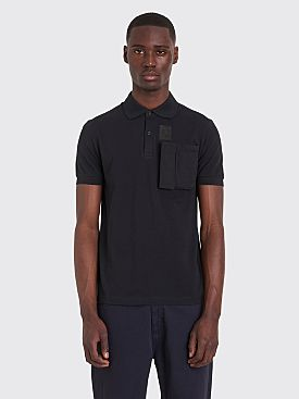 Raf Simons x Fred Perry Space Pocket Pique Shirt Black