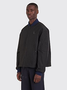 Raf Simons x Fred Perry Wadded Bomber Jacket Black
