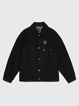 Raf Simons x Fred Perry Oversized Jacket Black