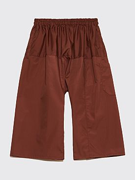 Raf Simons Short Trousers Brown